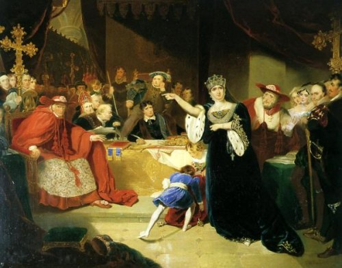 The Court For The Trial Of Queen Katharine