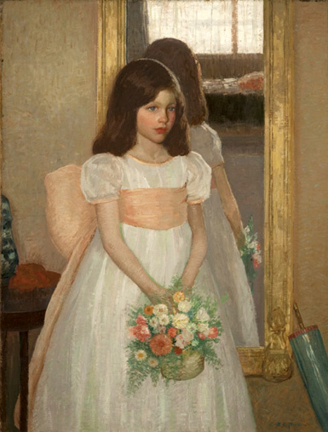 The Little Bridesmaid - Portrait Of Jean