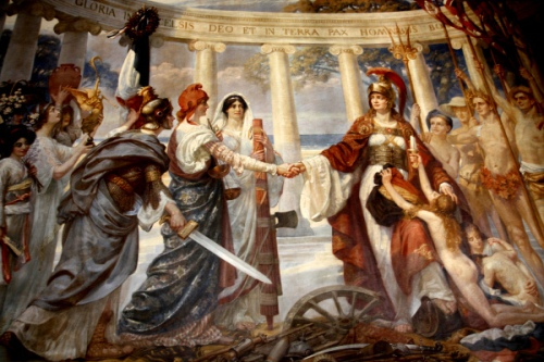Triumph Of The British Empire, Leading Up To The Covenant Of The League Of Nations