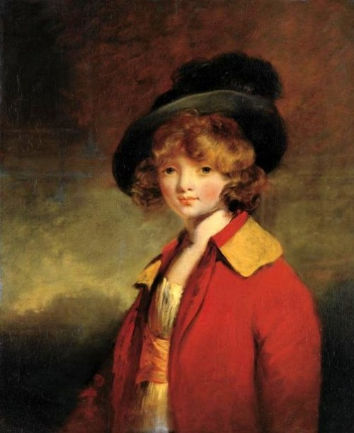 Young Boy, said to be Master Worsley