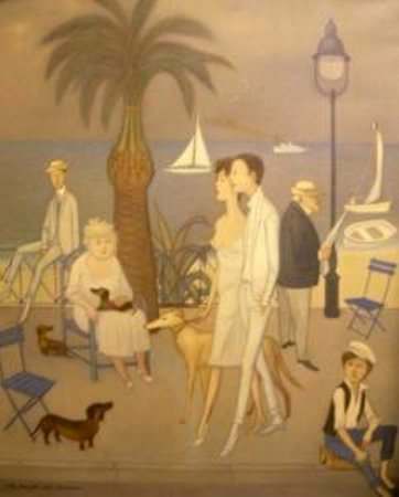 A Cannes Street Scene