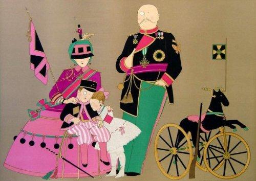 Admiral Sir Aylmar And Family