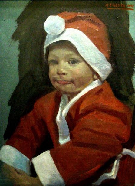 Adrian en Navidades