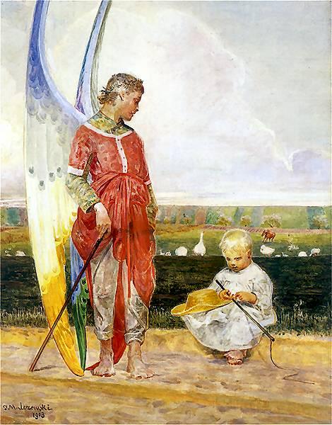 Angel And Shepherd