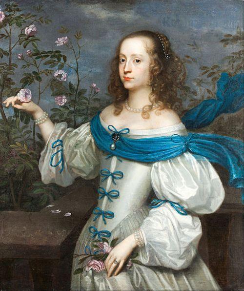 Beata Elizabeth von Jonigsmarck, at 17