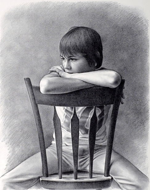Boy On Chair