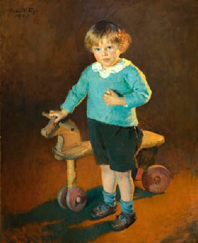 Boy With A Hobbiehorse