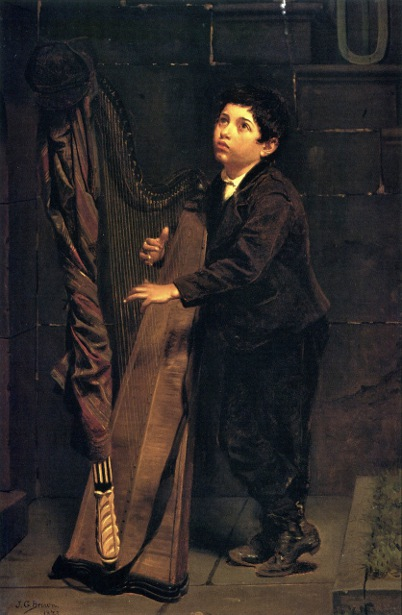 Boy With Harp