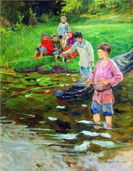 Children Fishermen
