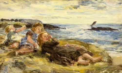 Children On The Seashore, Machrihanish