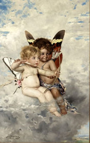 Cupids With Bow