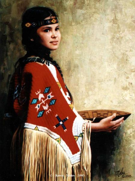 Daughter Of The Sioux
