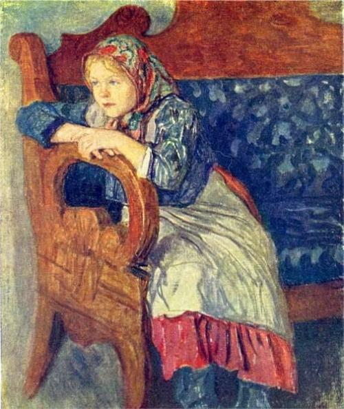 Girl On A Sofa