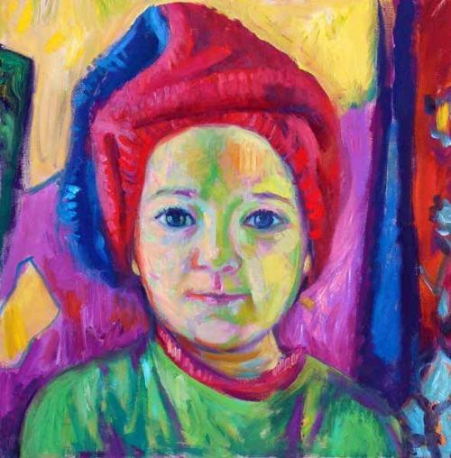 Girl With Turban