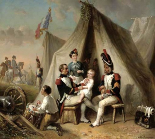 In Napoleon's Camp