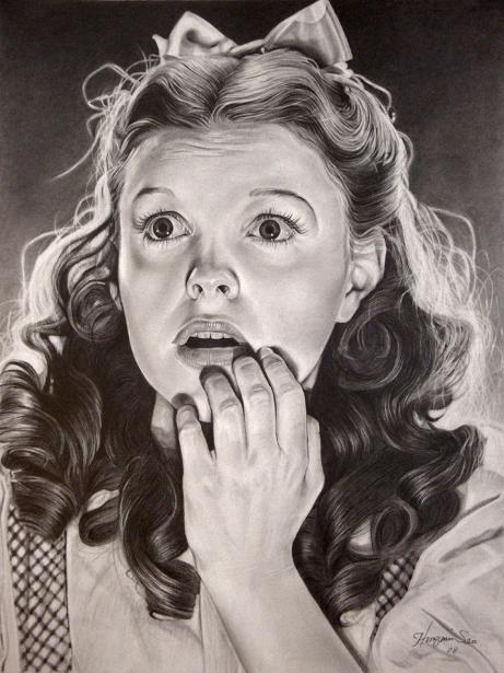 Judy Garland (at 16)