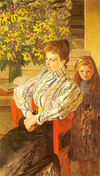 Juliana Nowak And Daughter