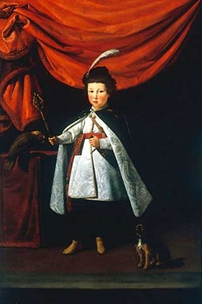 Leopoldo de' Medici in Polish Costume
