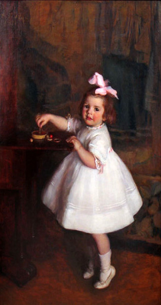Portrait Of A Young Girl (Frances Blackler Kennedy)