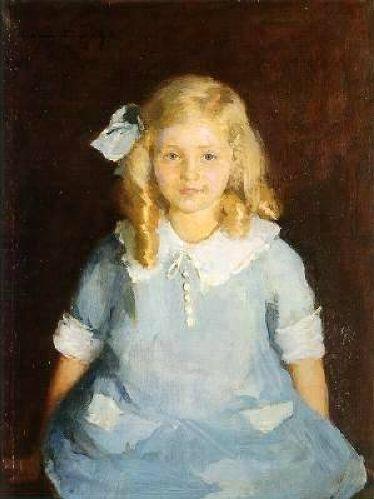 Portrait Of Miss Barbara