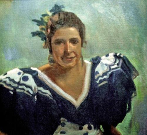 Retrato de Andaluza