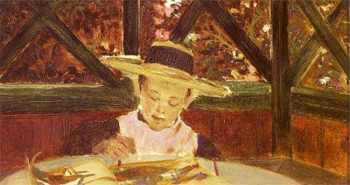 The Artist's Son, Raphael - Raphael Drawing