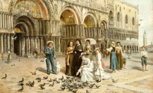 The Pigeons Of St.Marks, Venice