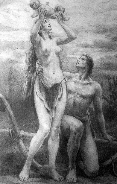 Adam And Eve: The Child Cain