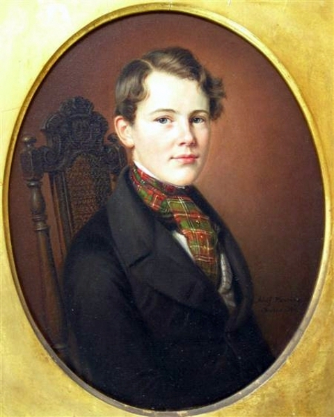 Boy With A Tartan Cravat