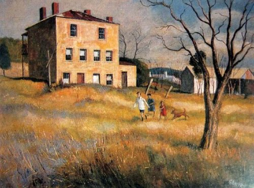 Children In The Yard