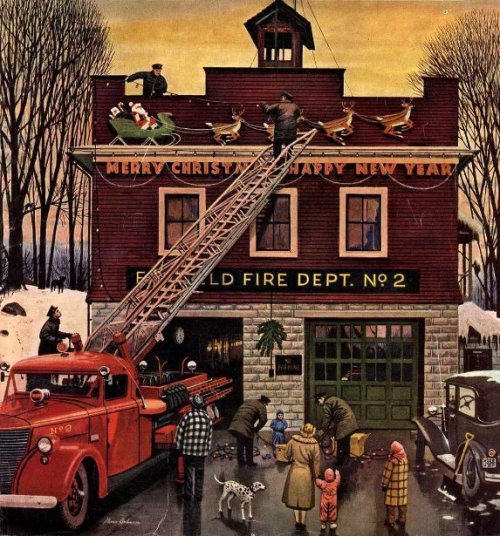 Christmas At The Fire Station