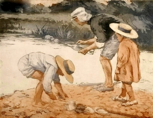 Combing The Shore