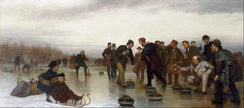Curling - A Scottish Game At Central Park