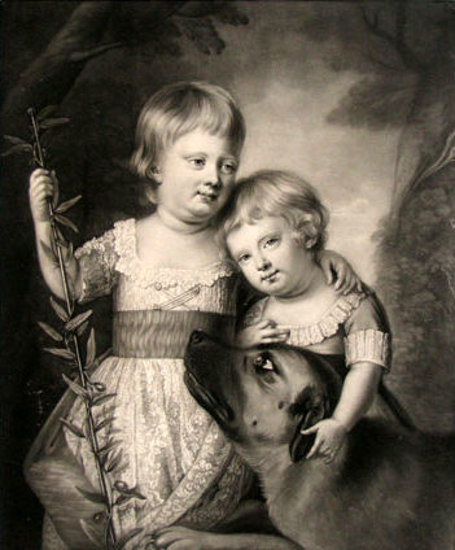 His Royal Highness, George Prince Of Wales, And Prince Frederick