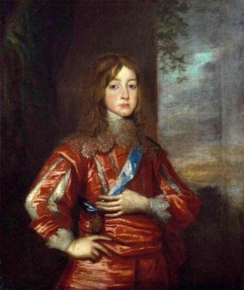 King James II When Duke Of York