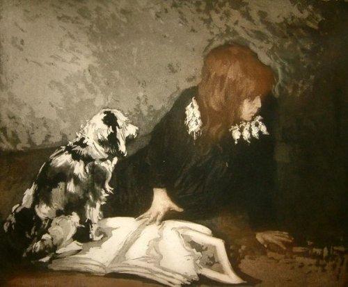 La page déchirée - L'enfant au chien