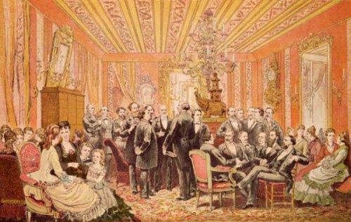 Le Salon de Victor Hugo, 21 Rue de Clichy, Paris