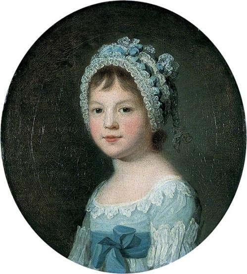 Little Girl With A Bonnet