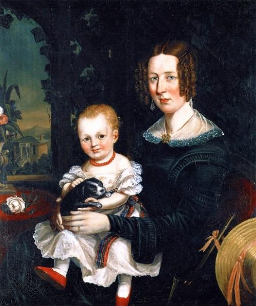 Margaret Erskine Williamson And Her Daughter Jessie