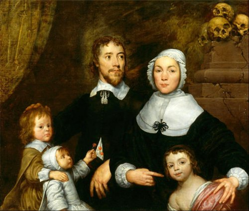 Portrait Of A Family, probably that of Richard Streatfeild