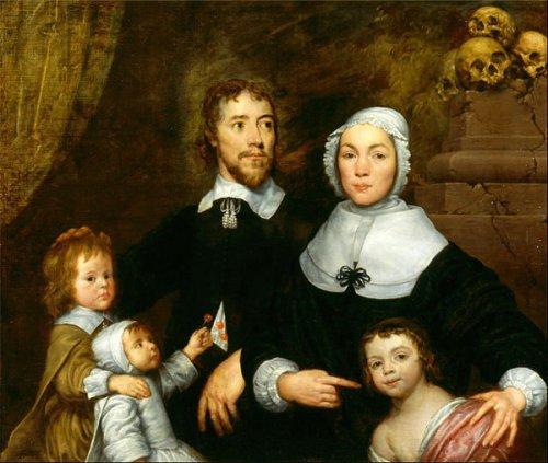 17th Century Family Portrait