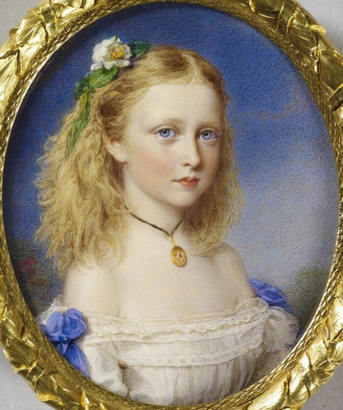 Princess Victoria Of Hesse, later Marchioness Of Milford Haven
