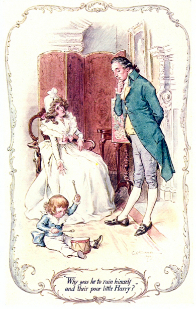 Sense And Sensibility - Why was he to ruin himself and their poor little Harry