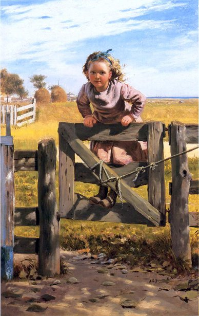 Swinging On A Gate