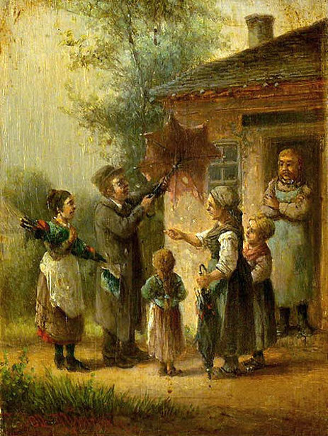 The Umbrella Seller