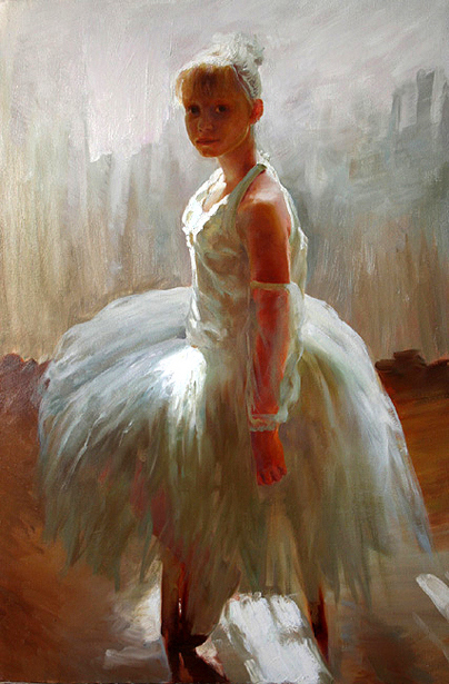 The Young Ballet Dancer