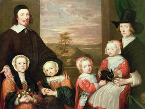 Unidentified Family Portrait, traditionally thought to be that of Sir Thomas Browne