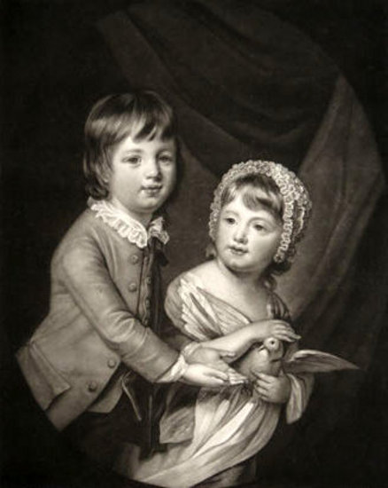 William Lord Newbattle And His Sister