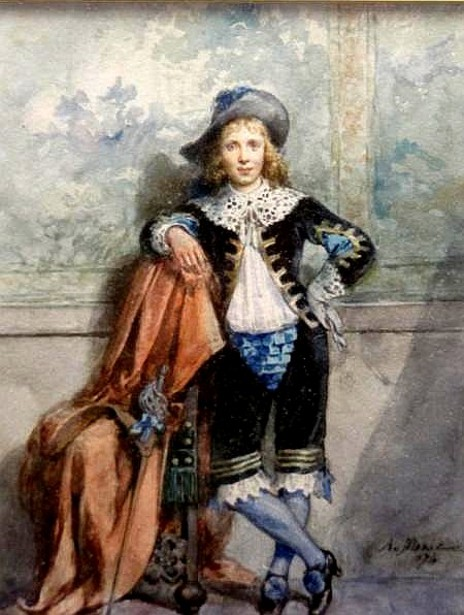 Young Cavalier With Sword