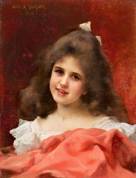 Young Girl With Red Cloak